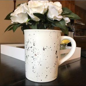 NEW Hearth & Hand Mug- White W/ Gold